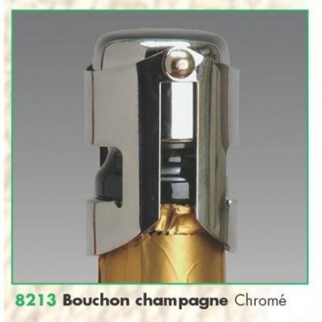 BOUCHON -Champagne- Chromé