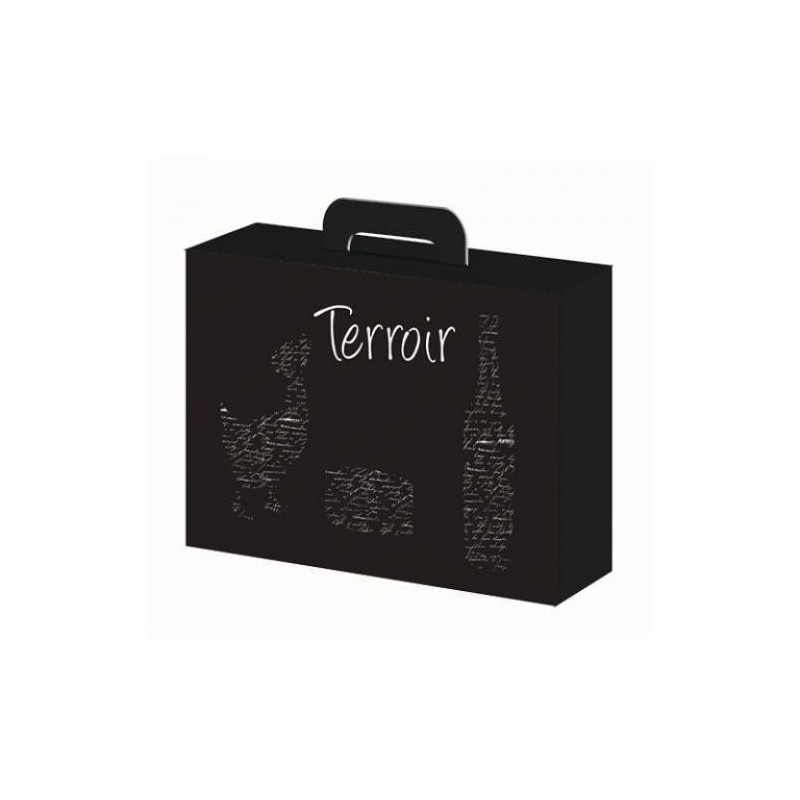 "BOX-Negro-Box 34.5x26x11.5 ""Terroir"""