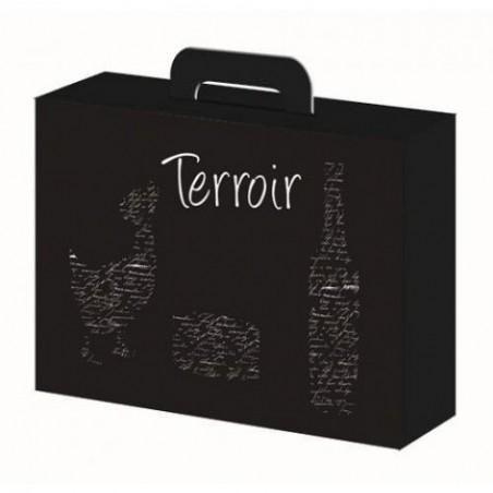 "BOX-Black-Box 34.5x26x11.5 ""Terroir"""