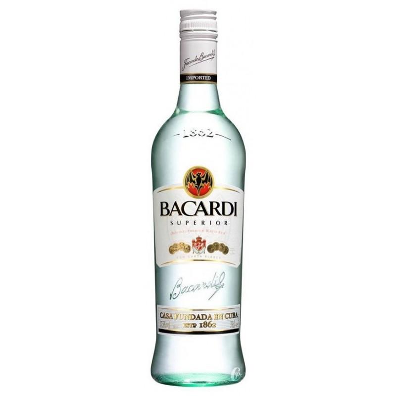 RHUM -Bacardi- 37.5° 70 cl