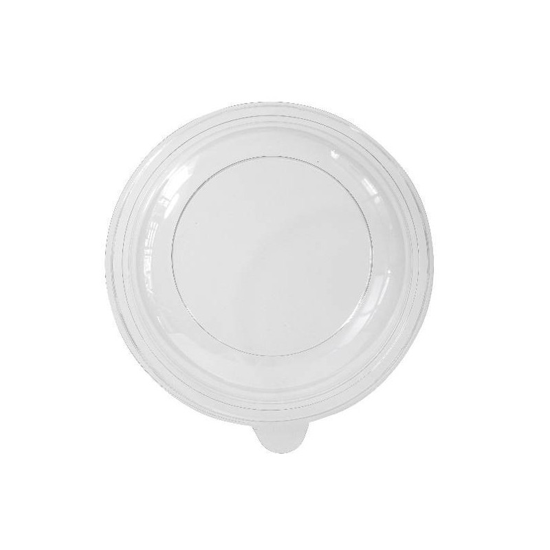 Tapa placa de plástico hueco redondo -Negro Ø 21,5 cm - PS - 70
