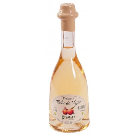 Bigallet Vine Peach Cream 18 ° 50 cl