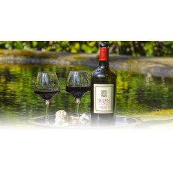 Château Haut Gléon CORBIERES -WINE AOC RED- 150 cl in individual wooden case