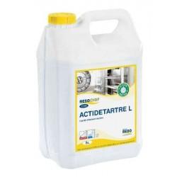 DETARTRANT LIQUIDE MACHINE PROFESSIONNELLE -Actidetartre- Bidon 5 L