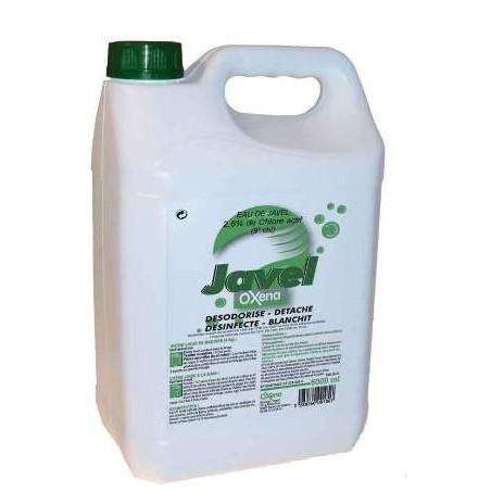 EAU DE JAVEL -2,6% Chlore actif - Bidon 5 L