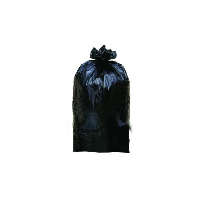GARBAGE BAG -Black 75 μ 150 L - The roller 10 bags