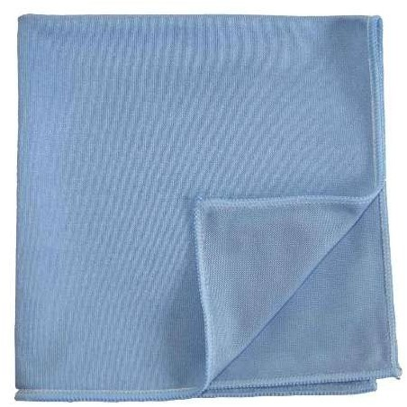 "Smooth MOP BLUE ""Special glass"" -40 x 40 cm- MICROFIBRE"