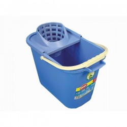 BUCKET RECTANGULAR + Wiper MERY -12 L