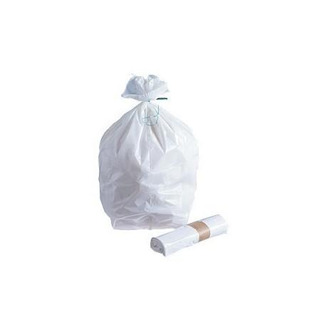 BOLSA DE BASURA -Blanco 10 μ L 5 25 bolsas de rodillos