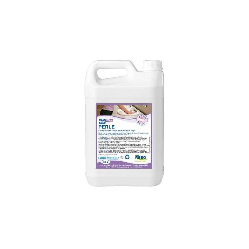 BODY SOAP and HAND   -Perle Perfume Camélia- Can 5 L