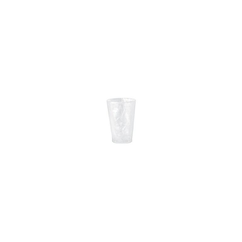 TAZA PLÁSTICA Cl- transparente envuelto -20 a 900