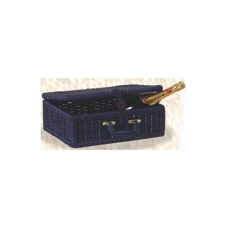 VALISE -Davy- Bois /corde bleue