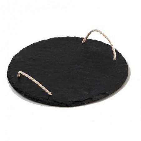 MESETA -Sidoine- pizarra Negro + Cuerda