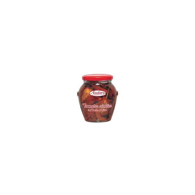 DRIED TOMATOES in olive oil -Audary- 200g jar