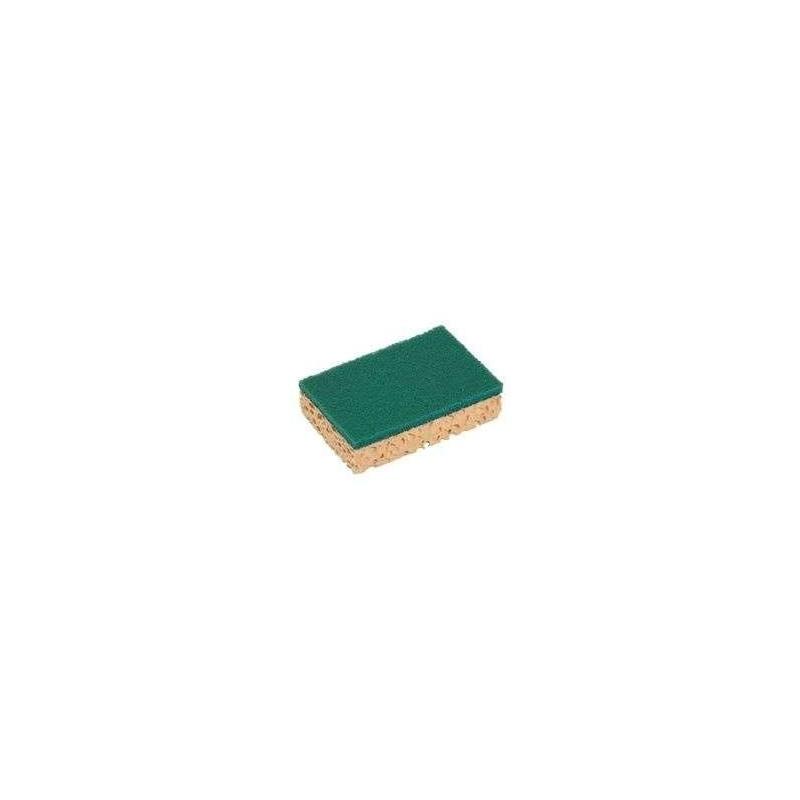 SPONGE + SCRAPER -130 X 84 x 24 mm-Spontex Professionnel - 10