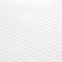 embossed paper tablecloth -70X70 - WHITE - 500