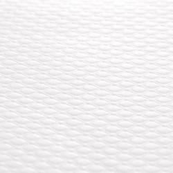 mantel de papel gofrado -70X70 - BLANCO - 500
