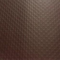 geprägtem Papier Tischdecke -70X70 - schokoladenbraun - 500