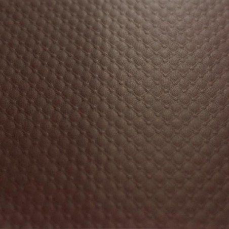 embossed paper tablecloth -70X70 - CHOCOLATE BROWN - 500