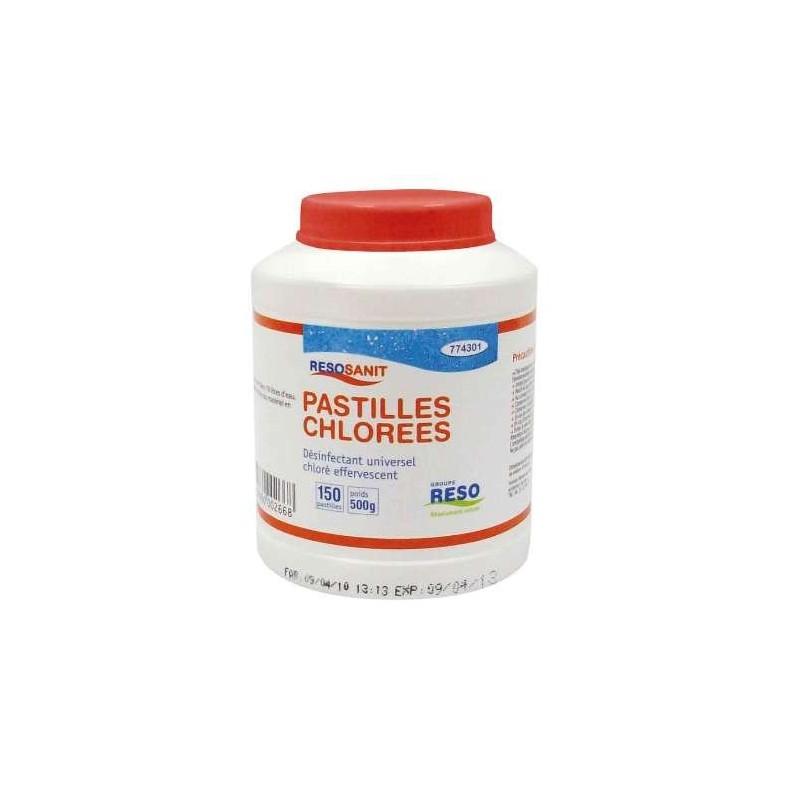 LEJIA -150ppm Cloro activo - 150 comprimidos - Caja 0.5 kg