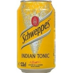 Schweppes Indian Tonic metal 33 cl