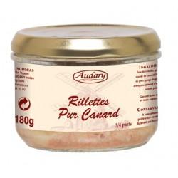 Rillettes PURO ANATRA -Audary- 180 g barattolo