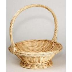 "BASKET Wicker Natural ""Bugsy"""