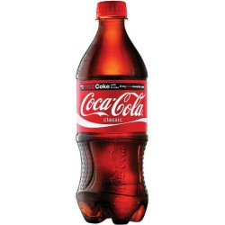 COCA COLA plastic bottle 1L