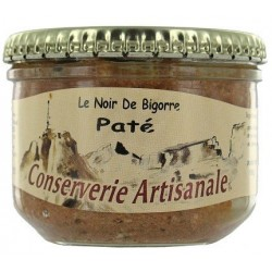 """Pâté de Porc Noir """"Terroir des Pyrénées"""" - bocal 180 g"""