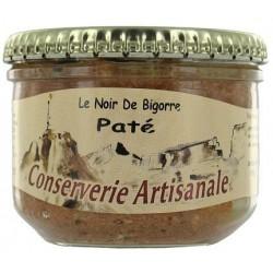 """Schweinepastete Black """"Terroir Pyrenäen"""" - 180 g Glas"""