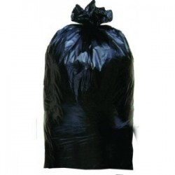 GARBAGE BAG 100 L Black 35 μ around 164 cm / H 87cm - 25 bags roll
