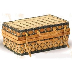 SUITCASE-Dalip-Bamboo / Fern - Green Decor