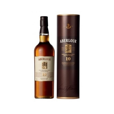 WHISKY Aberlour 10 YEARS 40 ° 70 cl