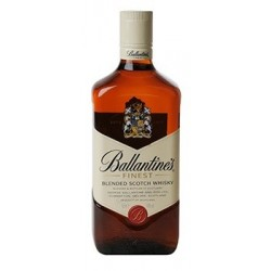 Más fino whisky Ballantine 40 ° 70 cl