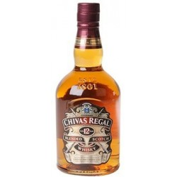 WHISKY Chivas Regal 12 ans 40° 70 cl