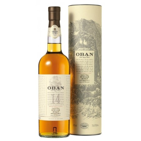 WHISKY Oban 14 years old 43 ° 70 cl