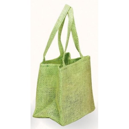 JUTE BAG light green -DolorèsV- Thick