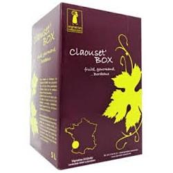 "BORDEAUX - ROSSO DOC VINO - Siozard Vigna ""Claouset la 'scatola' Fontana del vino BIB 5 L"