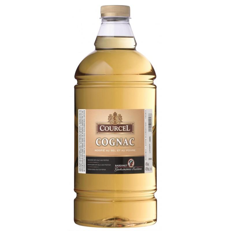 COGNAC modifié au sel et au poivre Courcel BARDINET 40° 2 L