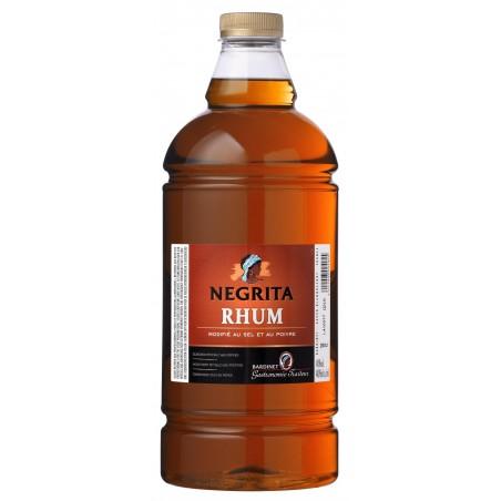RHUM BRUN modifié au sel et au poivre Negrita BARDINET 40° 2 L