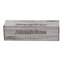 ALUMINIUM avec sa boîte distributrice -11 µ 30 cm x 200 m - le rouleau