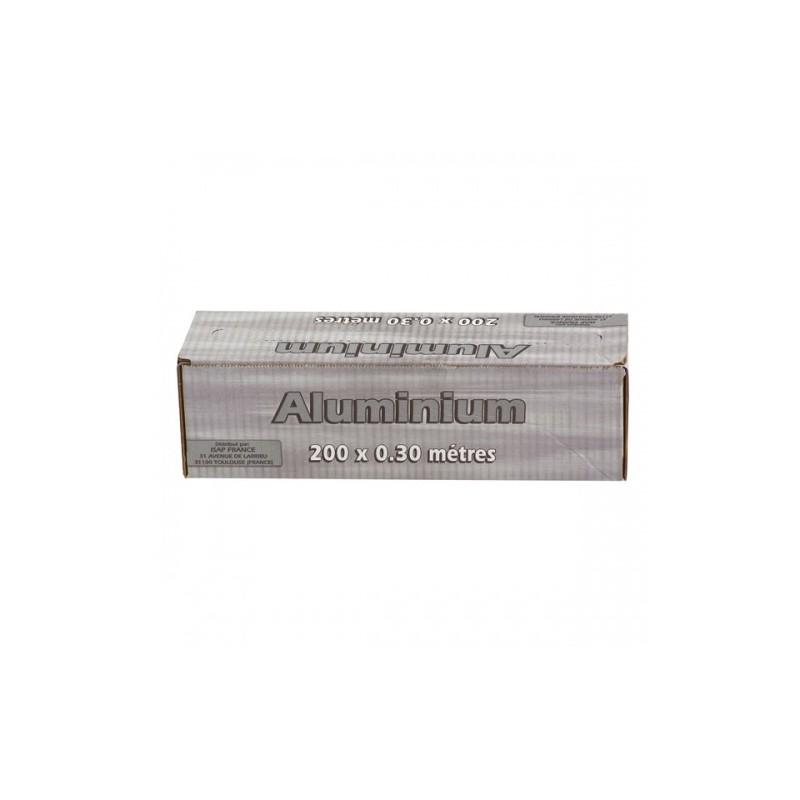 ALUMINIUM mit seinem Spender Μ -11 33 cm x 200 m - Die Rolle