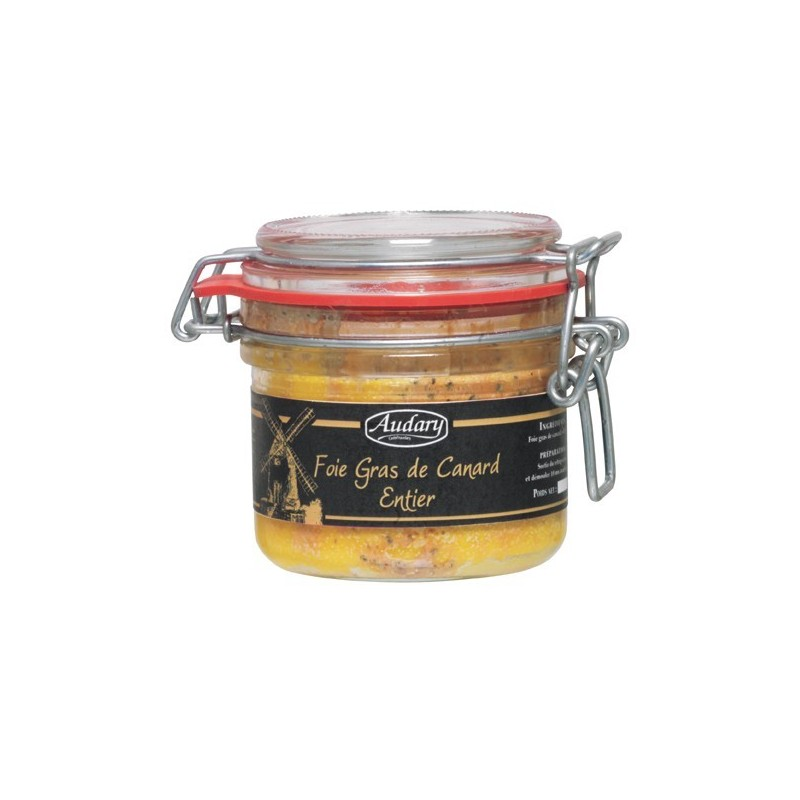 Whole duck foie gras - Jar 180 g