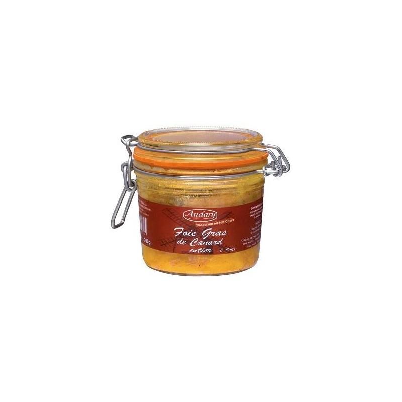 FOIE GRAS de Canard entier - Bocal 300 g