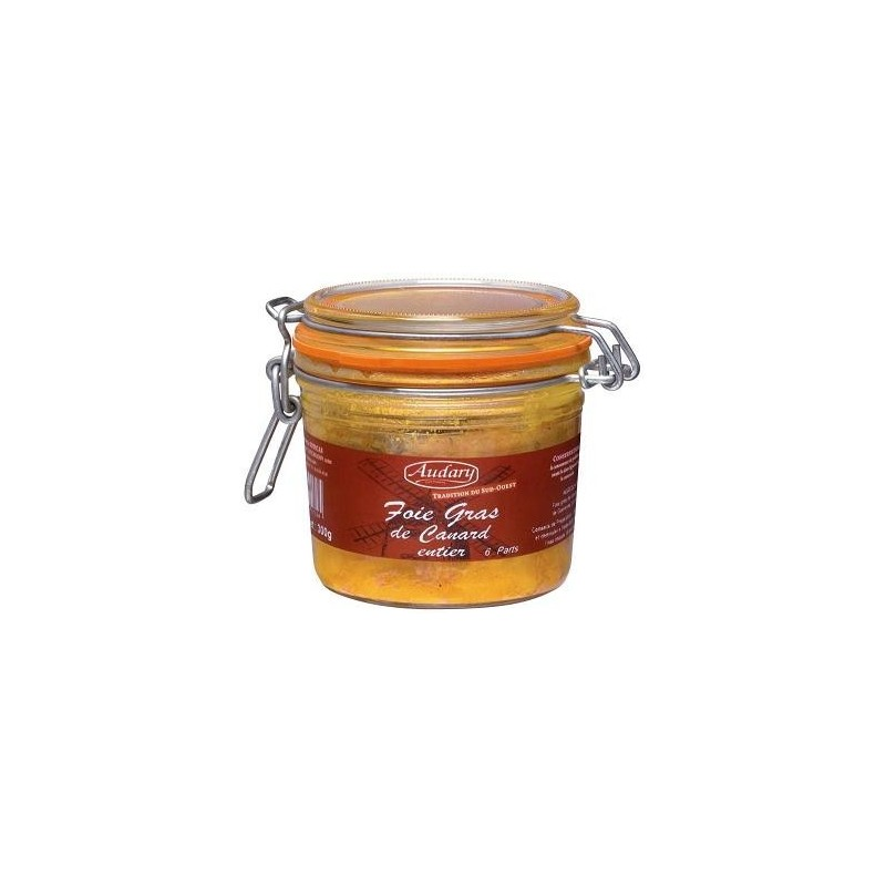 Whole duck foie gras - Jar 300 g