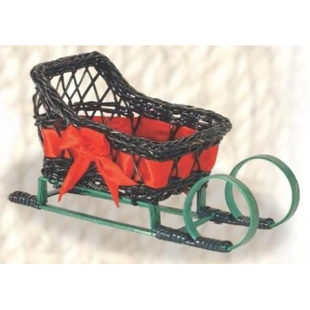 SLED - Fern green / red