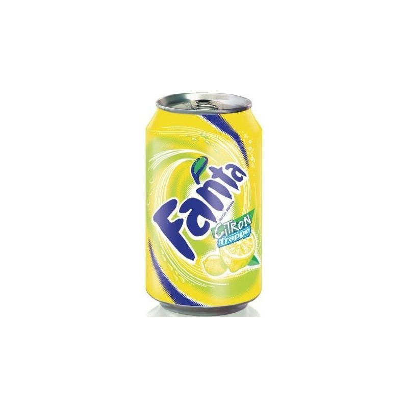 FANTA Lemon-metal 33 cl