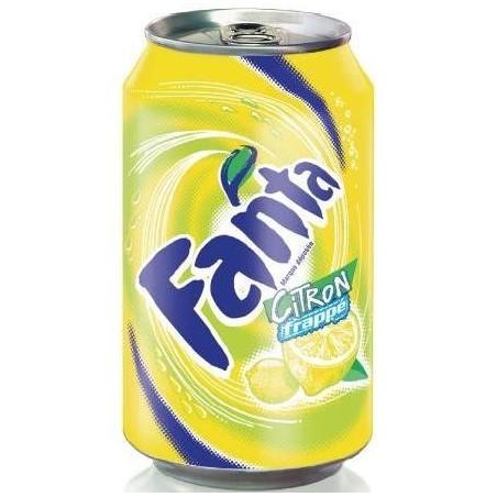 FANTA Lemon-metal 33 cl