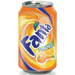 FANTA Orange -métal- 33 cl