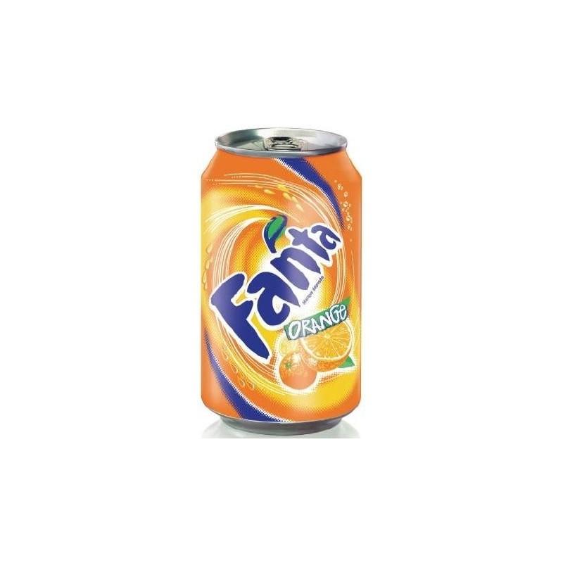 FANTA naranja metálico 33 cl